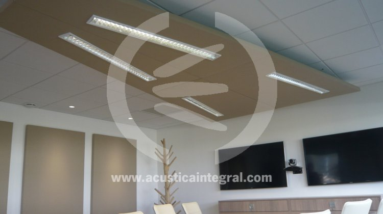acoustical platten suspendiert